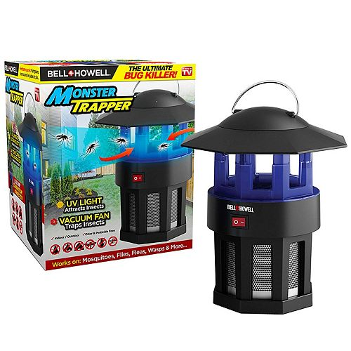 Bell + Howell 3 Watt (120 Volt) High Performance Electronic Indoor and Outdoor Monster Bug Trapper