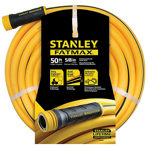Stanley FATMAX Professional Grade Water Hose 50 ft. x 5/8 inch