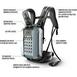 EGO POWER+ 56V 28Ah Li-Ion Commercial Series Backpack Battery for EGO POWER+ Commercial Series Tools