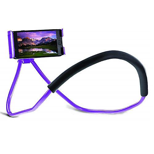 Lounger Universal Adjustable Neck Mount, Purple