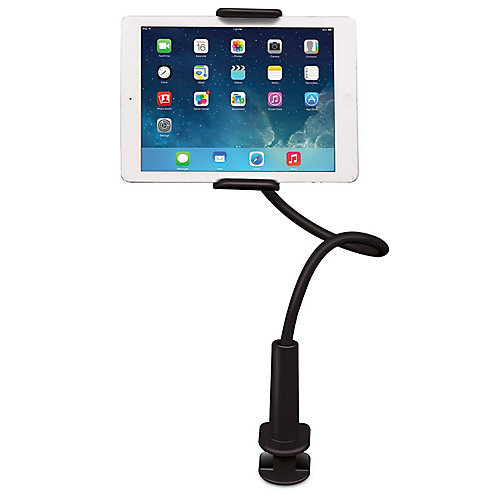 UGRIP Solid Grip, Adjustable Universal Tablet Stand, White
