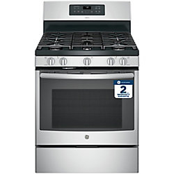 30-inch Free-Standing Gas Range with Convection Oven in Stainless Steel