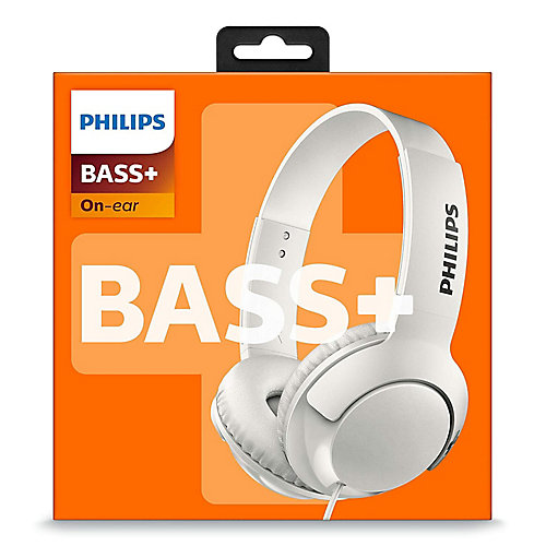 Wired On-Ear BASS+ Headphones
