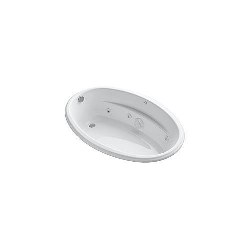 KOHLER 60 inch x 40 inch drop-in whirlpool in White