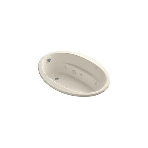 60 inch x 42 inch drop-in whirlpool in Almond