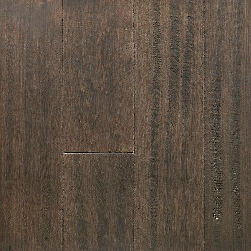 OptiWood Échantillon - 5 po x 12 po, bois franc, fini imperméable, Cuir tanné