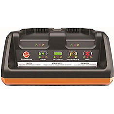 Hoover Hushtone M-Pwr 40-Volt Dual Bay Charger