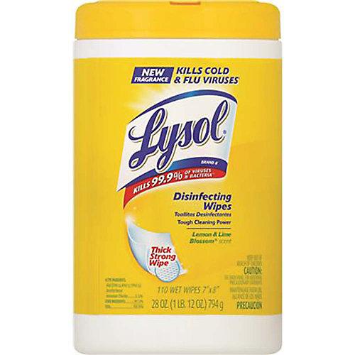 Disinfecting Wipes Citrus Scent (110-Count Per Tub)