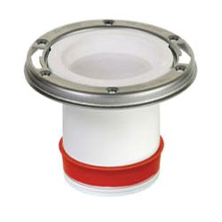 Jag Plumbing Products Push in Repair Collar with Stainless Steel Ring