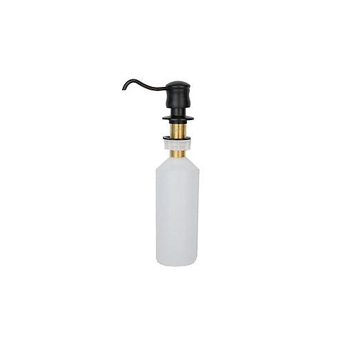 Distributeur de savon et de lotion en bronze huilé