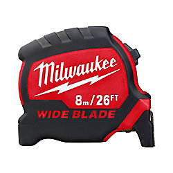 8 m/26 ft. x 1.3-inch W Blade Premium Tape Measure with 14 ft. Standout