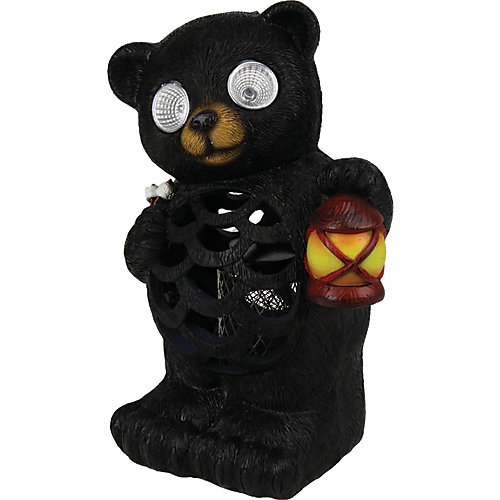 Solar LED Bear Bug Zapper