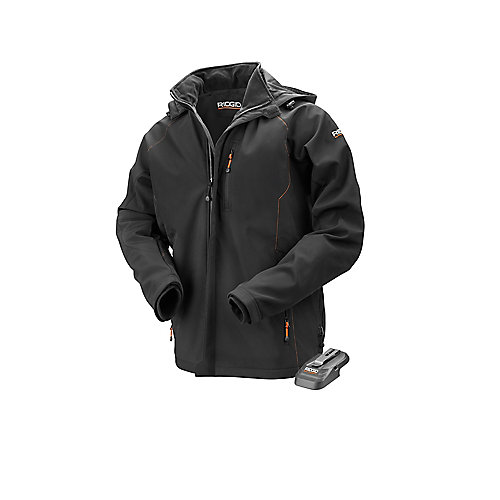 Men's X-Large Black 18V Lithium-Ion Cordless Heated Jacket (Battery Not Included)