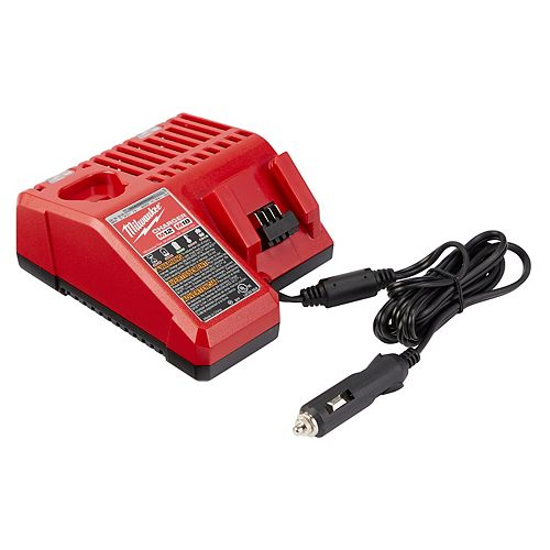 M12 and M18 12V/18V Lithium-Ion Vehicle Battery Charger