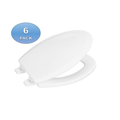 Centoco 6 Pack Elong Centocore 900-001 Toilet Seats