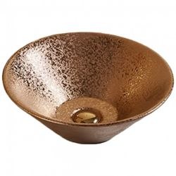 American Imaginations 16-inch W Above Counter Bronze Sink