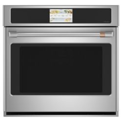 Café 30-inch W Built-In Convection Wall Oven in Stainless Steel