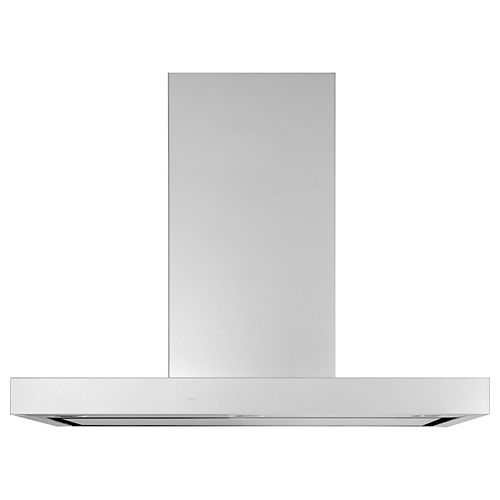 GE 36-inch W Smart Wall Mount Range Hood with Light in Stainless Steel