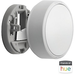 Lutron Aurora Smart Bulb Dimmer Switch for Philips Hue Smart Bulbs in White