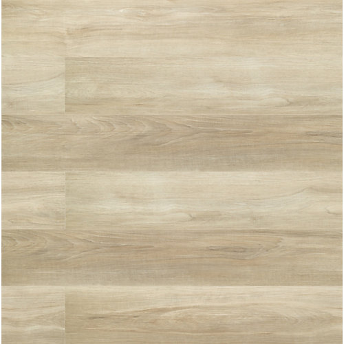 Planches en vinyle de luxe, Chêne Wickford,  7 po x 42 po. Rigides. (24,90 pi2/boîte)