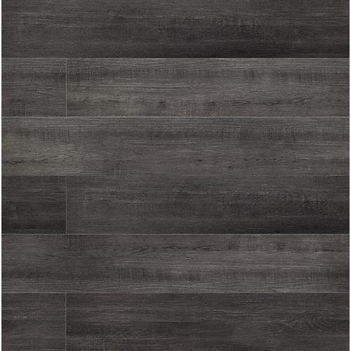 Planches en vinyle de luxe, Chêne Bramston,  7 po x 42 po. Rigides. (24,90 pi2/boîte)