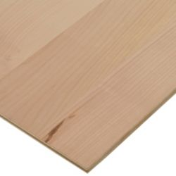 Columbia Forest Products 1/2in. X 2ft. X 4ft. Alder Plywood