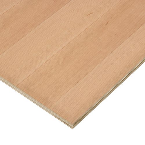 Columbia Forest Products 3/4in. X 2ft. X 4ft. Cherry Plywood