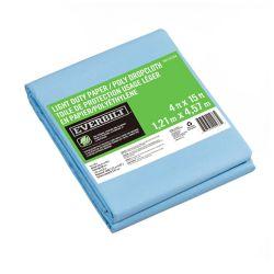 Everbilt 4 ft. x 15 ft. Slip Resistant Paper/Poly Drop Cloth