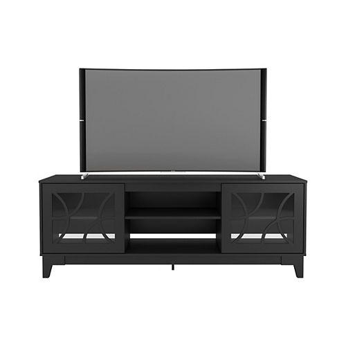 Nexera Venus 72 inch TV Stand, Black