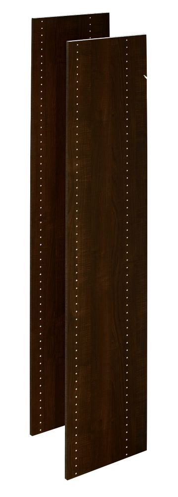 72 in. Vertical Panels in Espresso (2-Pack)