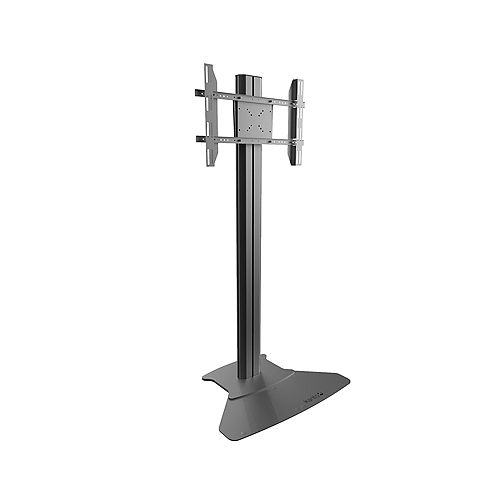 Kanto Stationary TV Floor Stand with Built-in Power Bar for 37-inch to 70-inch TVs