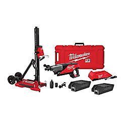 MX FUEL Cordless and Emission-free Handheld Core Drill Kit w/ Stand
