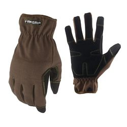 Firm Grip Duck Utility Canvas Glove, Large