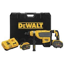 Dewalt 60V MAX FLEXVOLT 1-7/8-INCH SDS MAX ROTARY HAMMER W/ 2 BATTERIES (9AH), CHARGER AND KIT BOX