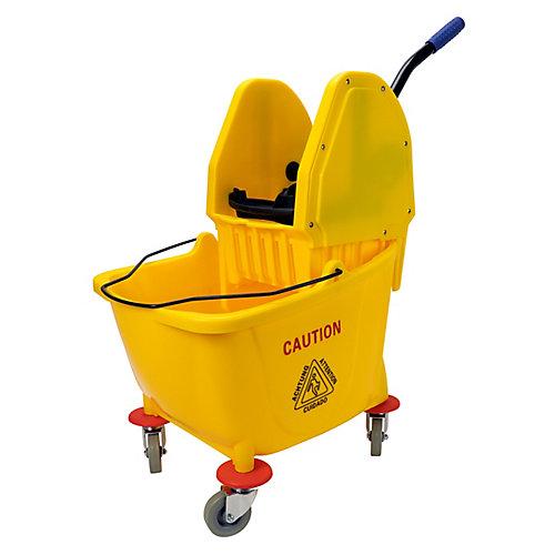 Downpress Wringer Bucket Combo - 8 gal (32 L) - Yellow