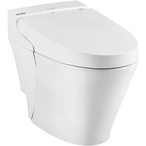 American Standard Advanced Clean 100 Spalet 12-inch Rough-In 1-piece 0.92/1.32 GPF Dual Flush Elongated Toilet in White