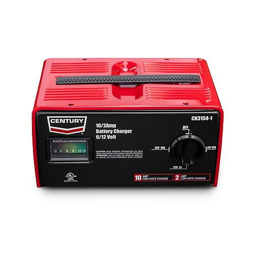 Century Lincoln chargers 6V/12V, 10A/2A Battery Charger