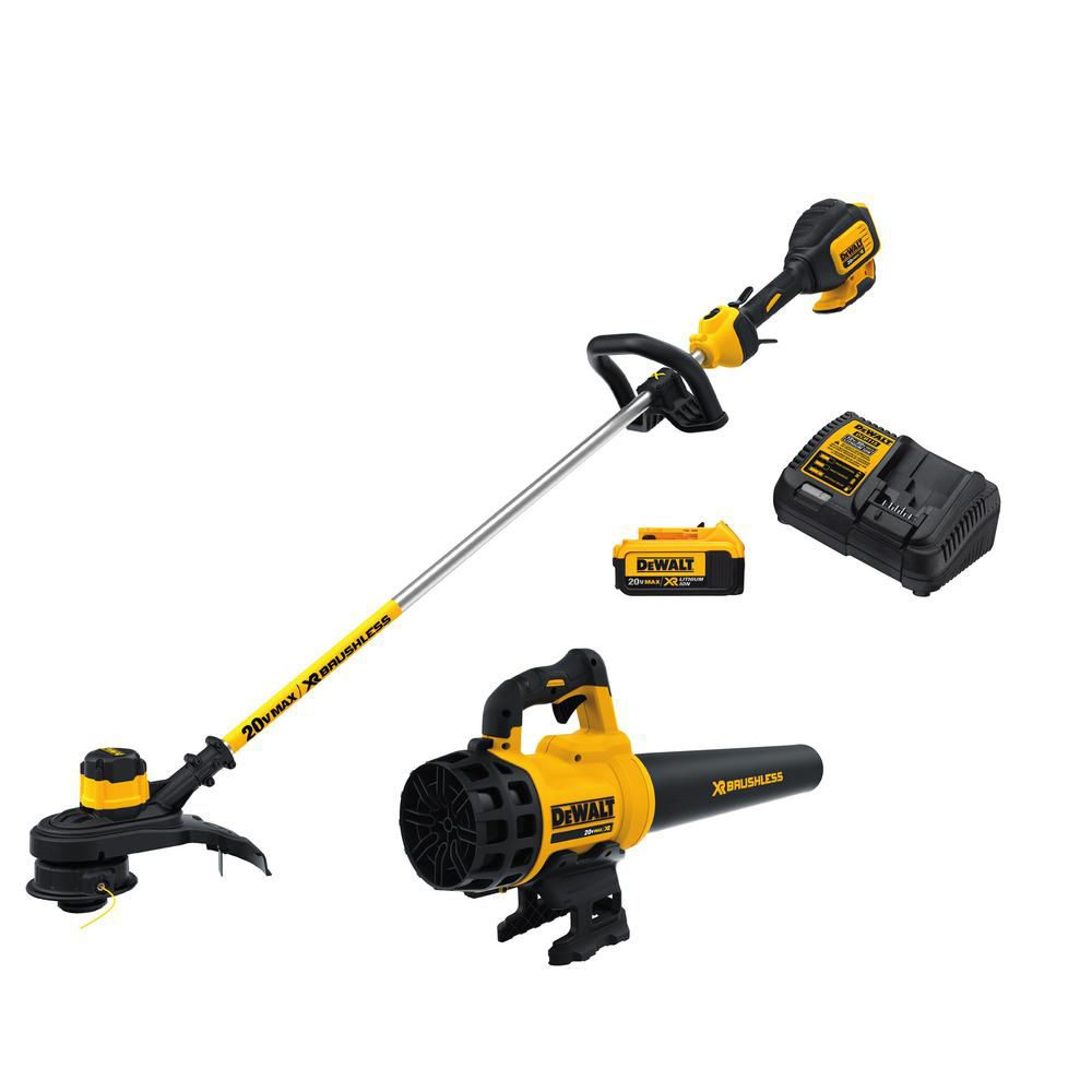 Dewalt DCKO97M1 20V MAX Lithium-Ion Cordless String Trimmer and Blower Combo Kit
