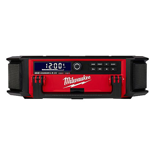 PACKOUT M18 Lithium-Ion Cordless Radio/Speaker with Built-In Charger