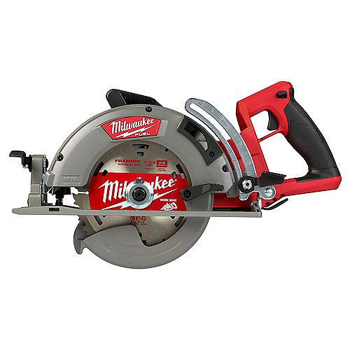 Milwaukee Tool M18 FUEL 18V Lithium-Ion Cordless 7-1/4-inch Rear Handle Circular Saw (Tool Only)