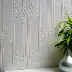 Brewster Home Fashions Wildacre Paintable Textured Vinyl Wallpaper