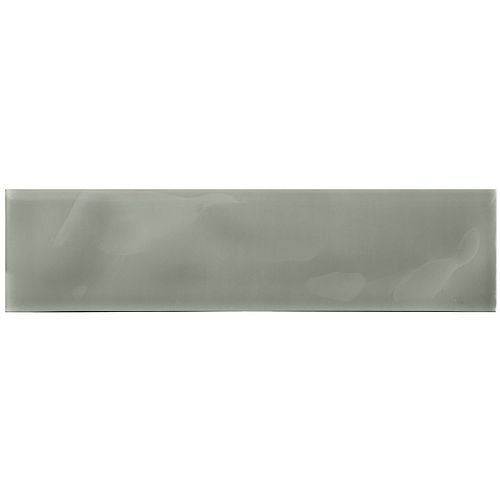 Enigma Arctic Anchor 3-inch x 12-inch Artisan Glass Tile (5 sq.ft. / case)