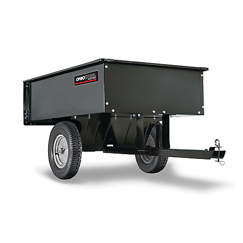 12 cu. ft. 1000 lb Steel Cart