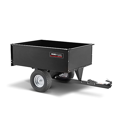 16 cu. ft. 1250 lb. Swivel Cart