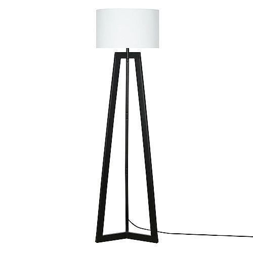 Alsy Black Tripod Floor Lamp