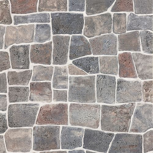 Brewster Home Fashions Cattleya Grey Slate Path Wallpaper