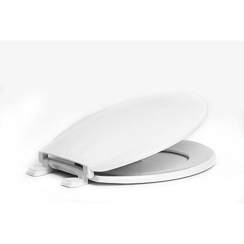 Centoco 1200-001 Round Toilet Seat, White