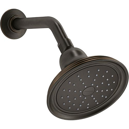 KOHLER Devonshire 1.75 gpm Single-Function Showerhead with Katalyst Air-Induction Technology