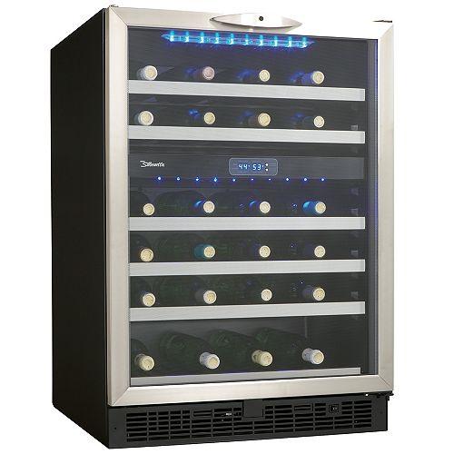 Silhouette Silhouette Refroidisseur à vin de 24 pouces à deux zones