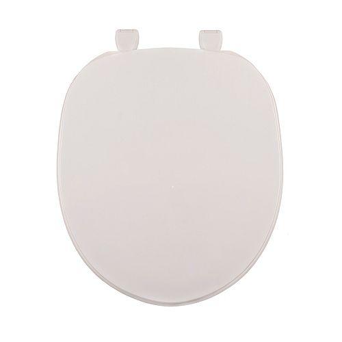 Centoco 200-001 Round Toilet Seat, White